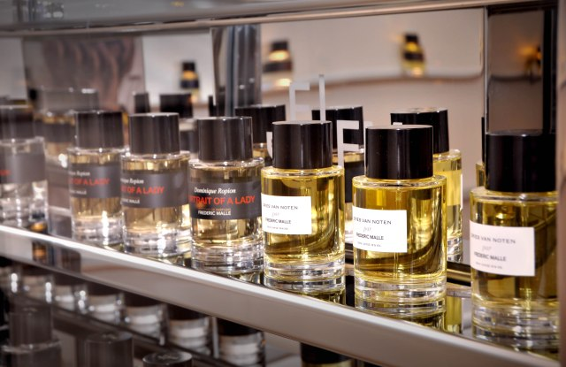 Scents in Editions de Parfums Frédéric Malle store in Milan.