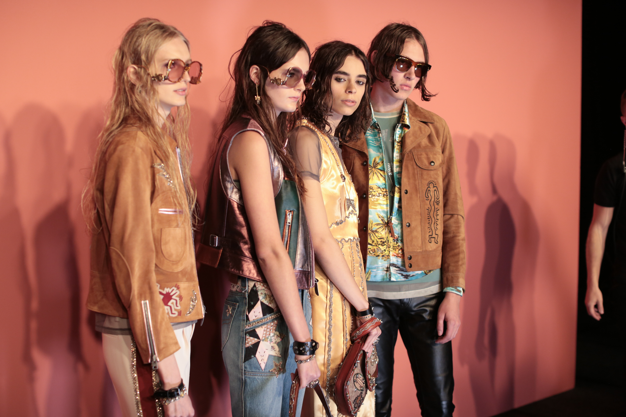 Backstage at Coach 1941 RTW Spring 2018