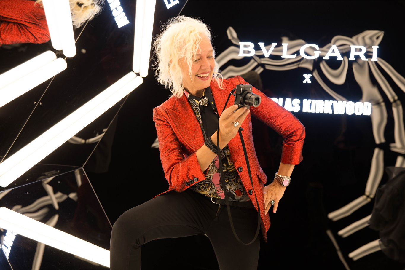 Ellen von UNWERTH.. Bulgari X Nicholas Kirkwood. MFW. Milan. Italy. 092017 © david atlan