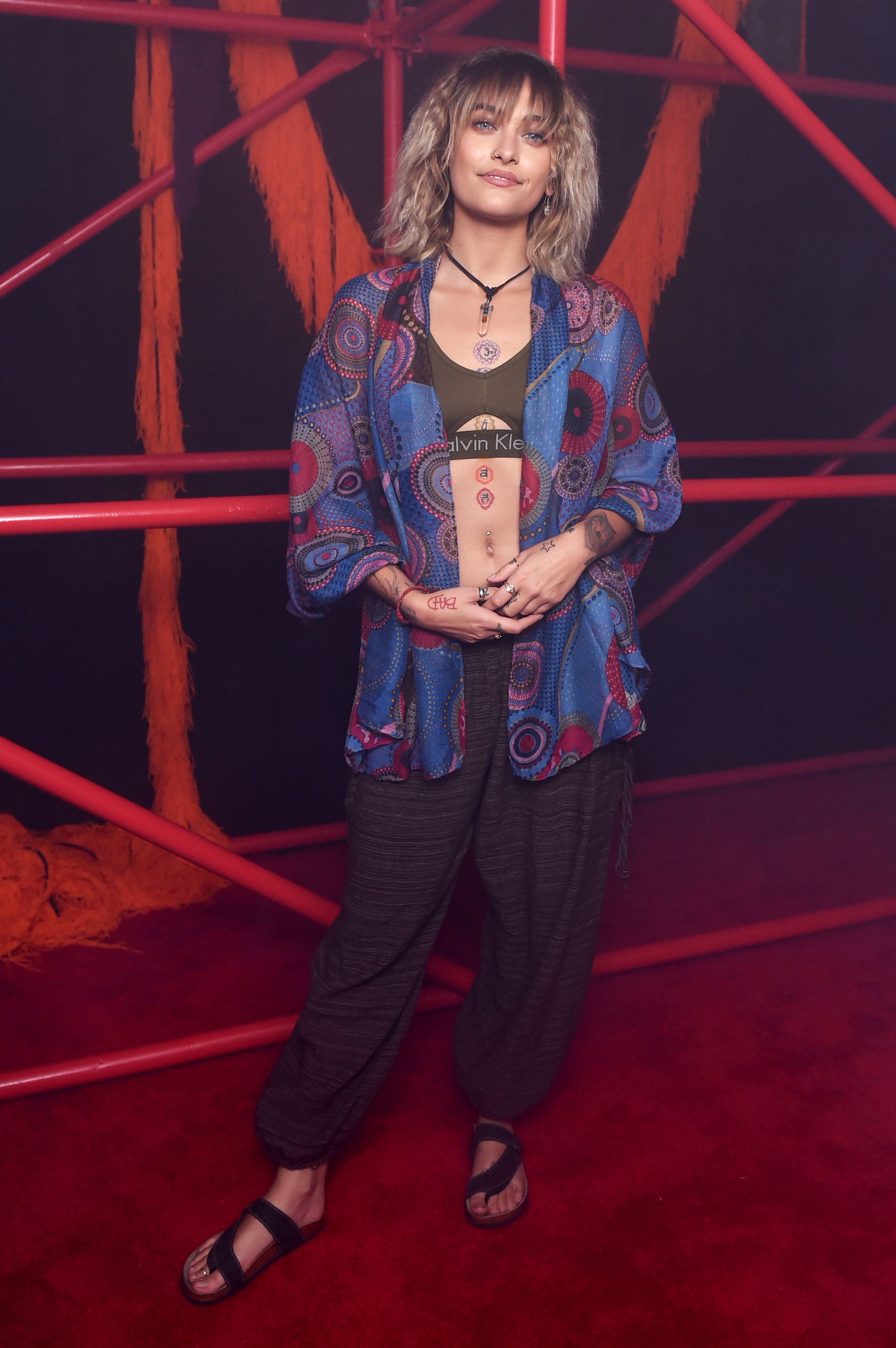 Paris JacksonCalvin Klein show, After Party, Spring Summer 2018, New York Fashion Week, USA - 08 Sep 2017