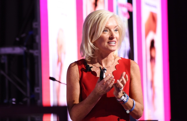 Carolyn Everson (VP, Global Marketing Solutions, Facebook)Video: Connecting People, Reshaping Marketing seminar, Advertising Week New York 2017, PlayStation East Stage, PlayStation Theater, New York, USA - 25 Sep 2017