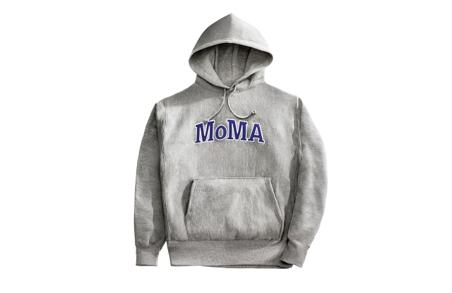 A Champion for MoMA hoodie.