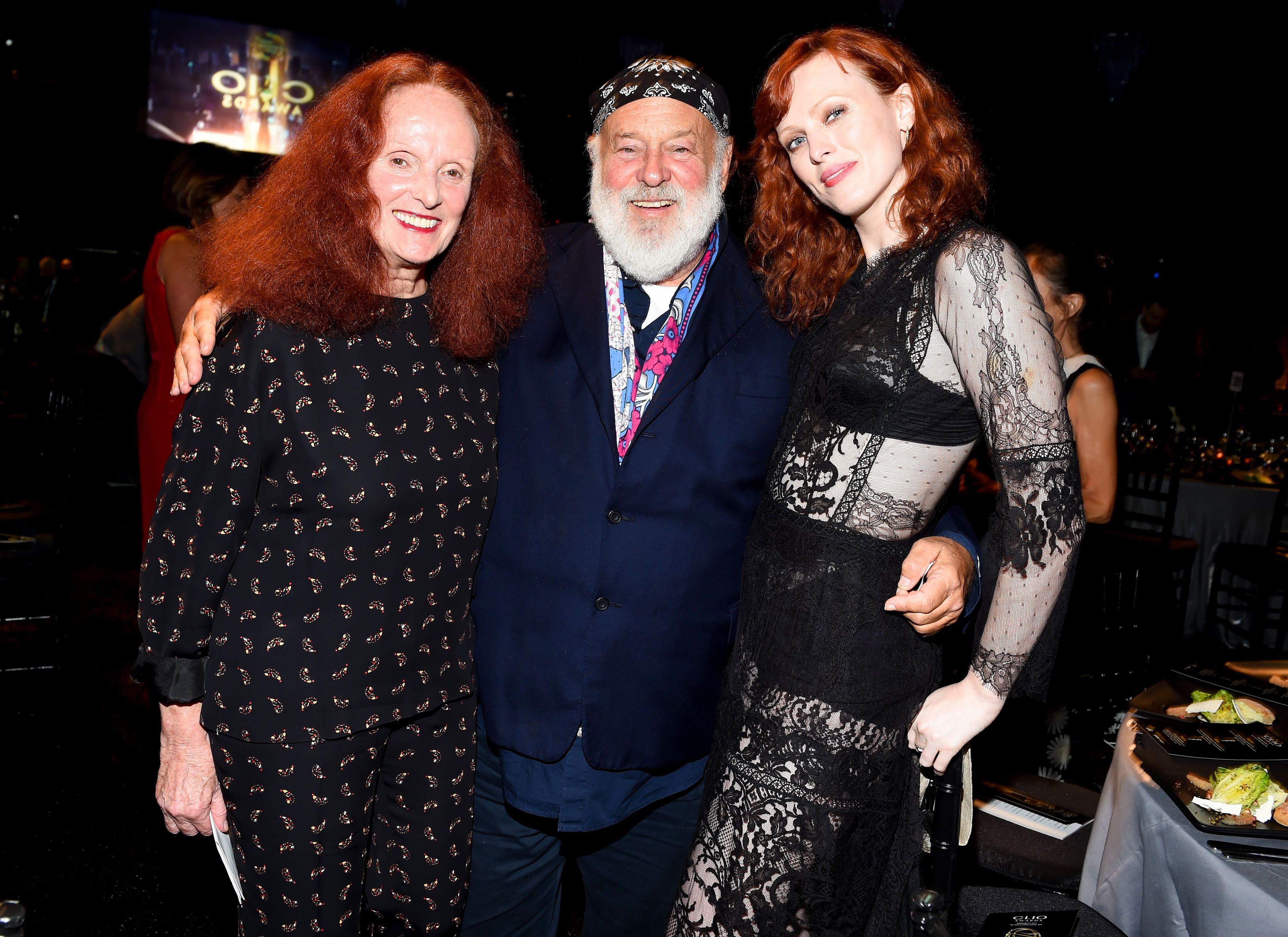 Grace Coddington, Bruce Weber, Karen ElsonClio Fashion and Beauty Awards, Inside, New York, USA - 27 Sep 2017