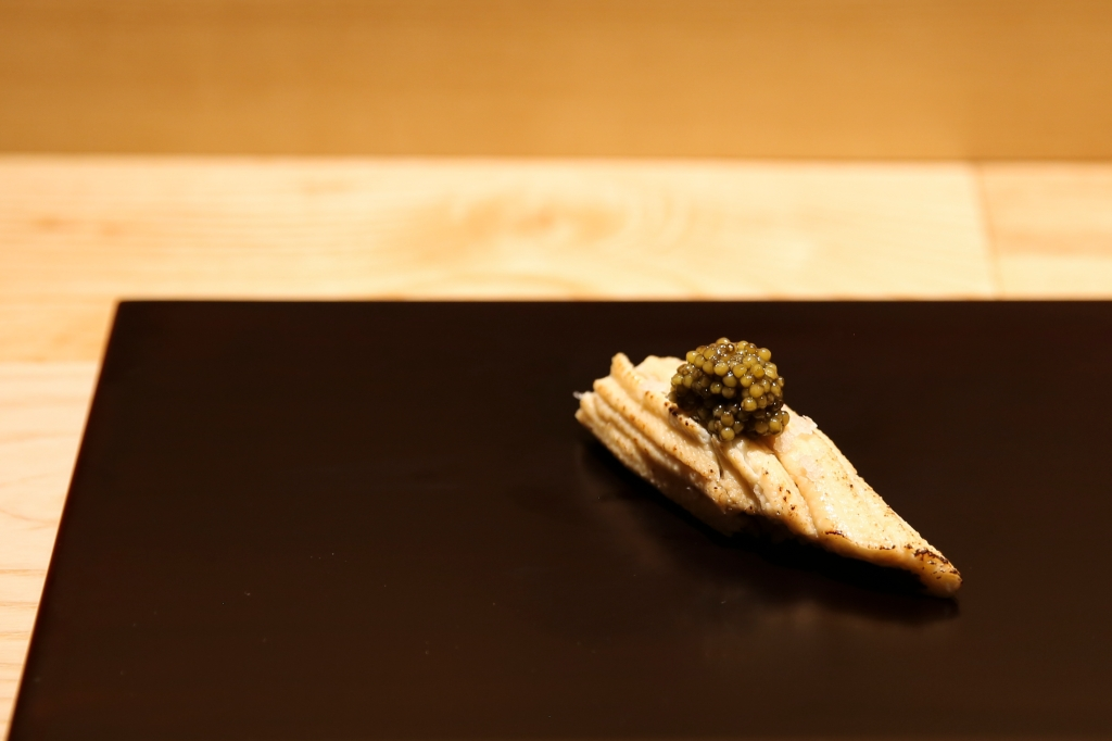 A course from the omakase menu.