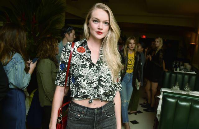 Lindsay EllingsonCindy Crawford Capsule launch, Spring Summer 2018, New York Fashion Week, USA - 12 Sep 2017