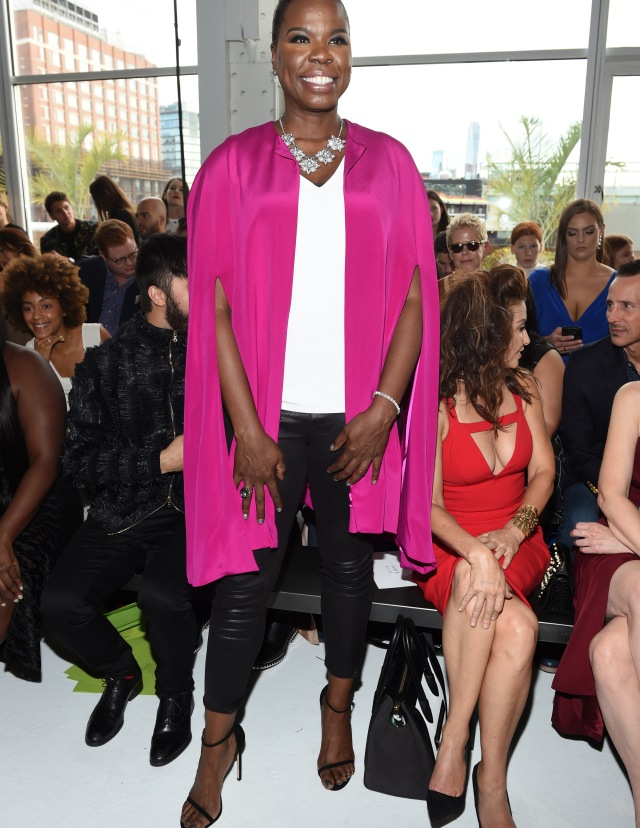 Leslie Jones in the front rowChristian Siriano show, Spring Summer 2018, New York Fashion Week, USA - 09 Sep 2017