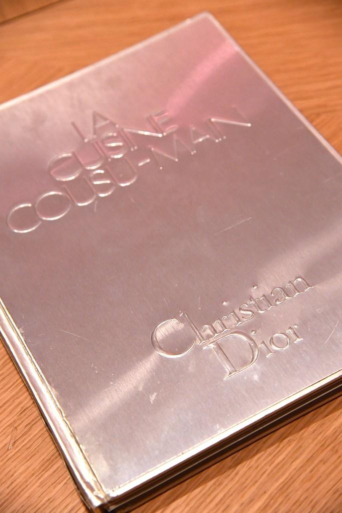 "The Christian Dior cookbook, ""La Cuisine Cousu-Main."""