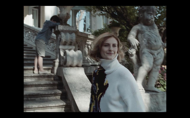 """""""Dress Like a Miracle"""" by Carlo Sironi with Lidiya Liberman for KRIZIA"""