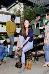 Rumer Willis The Great Boxcar Boot launch
