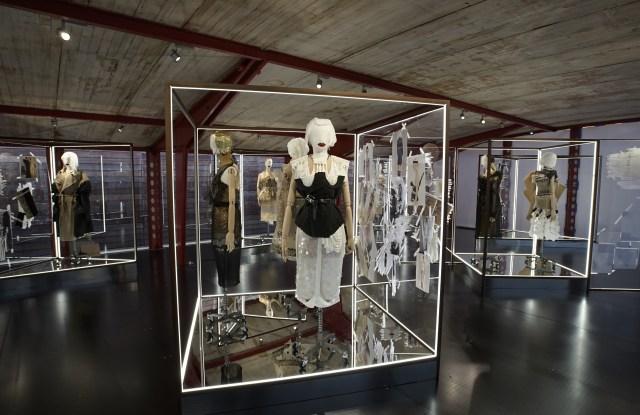 Maison Margiela exhibit at Maxfield