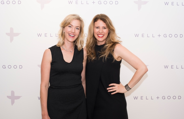 Well + Good founders Alexia Brue and Melisse Gelula.