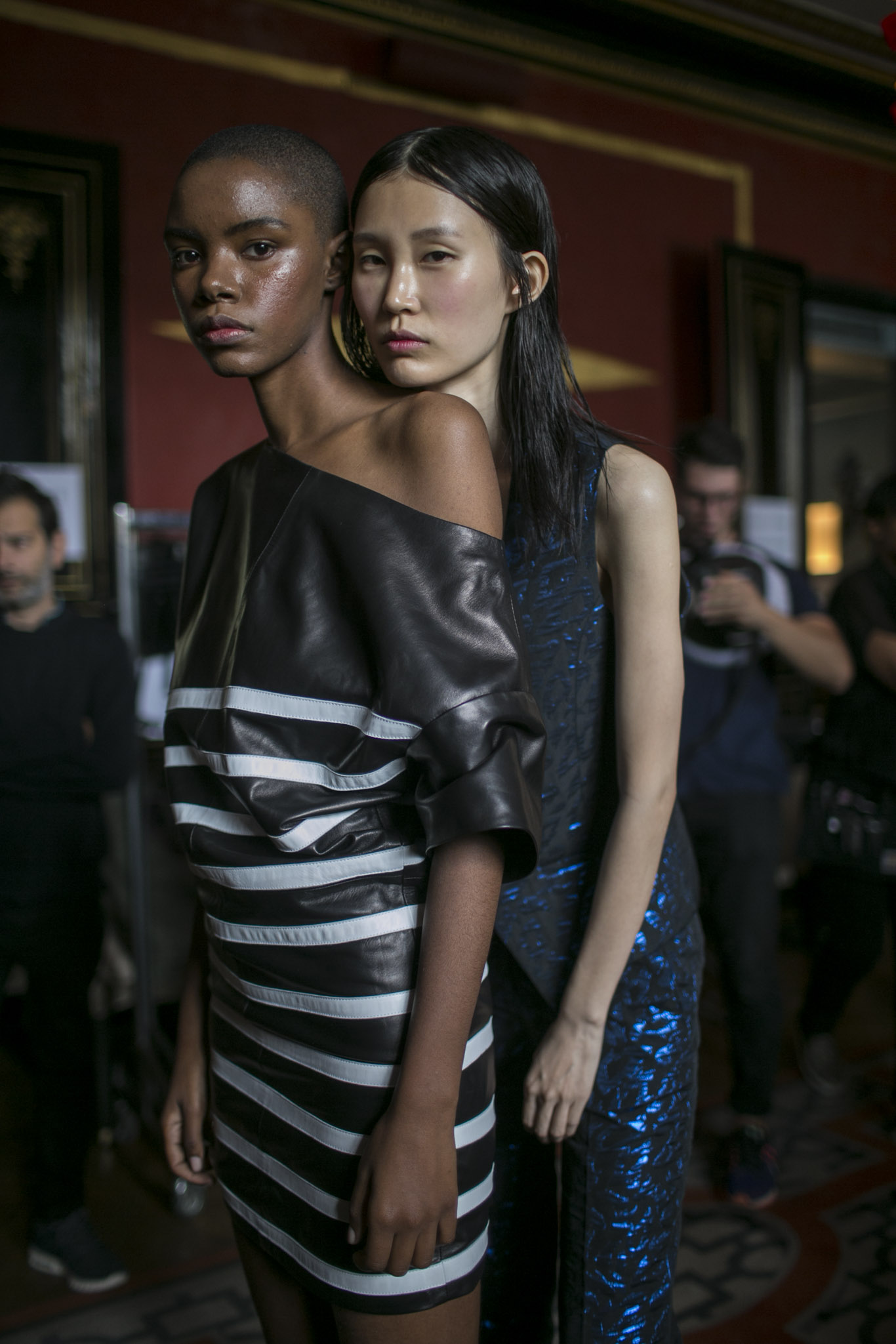 Backstage a Each X Other RTW Spring 2018