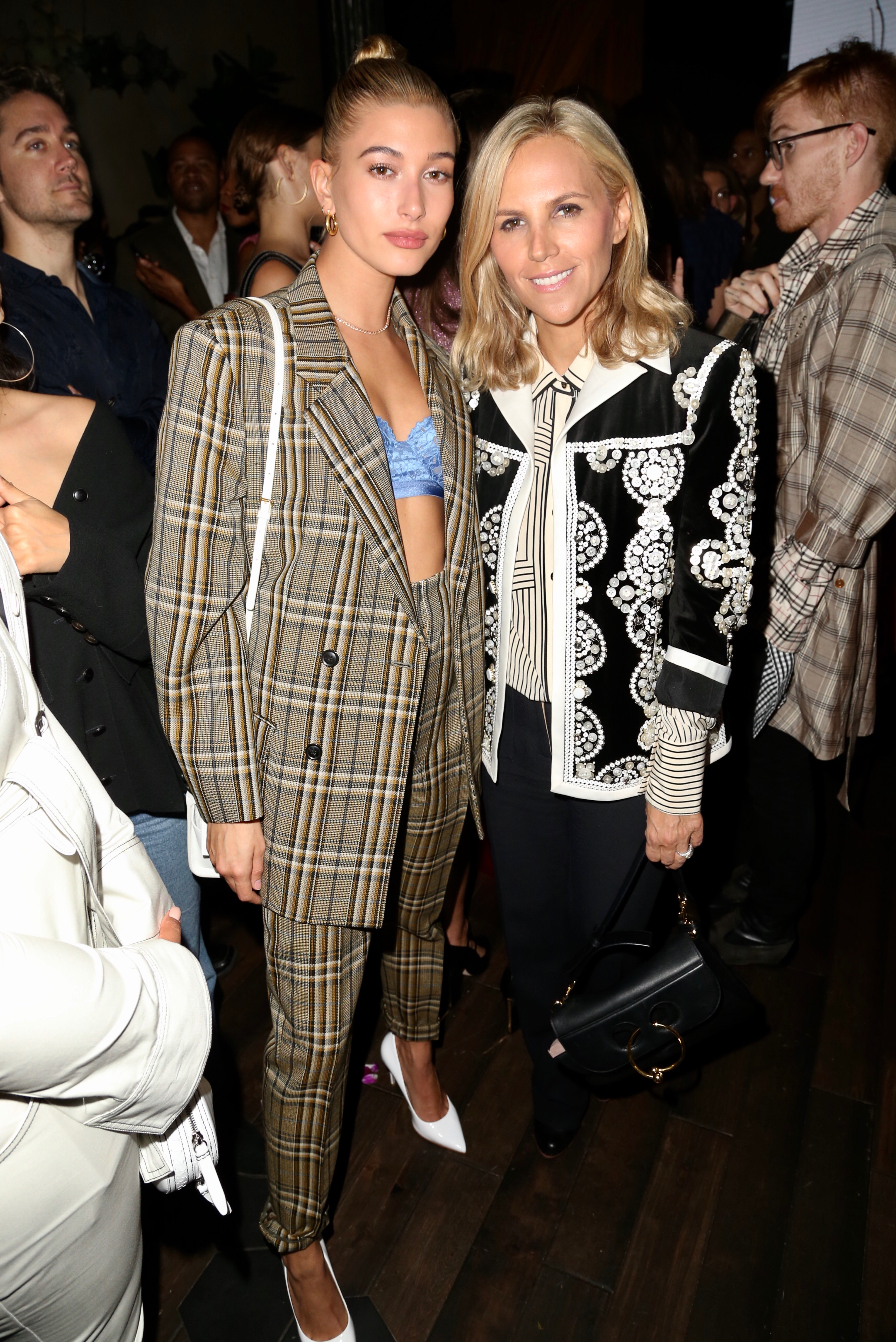 Hailey Baldwin, Tory Burch
