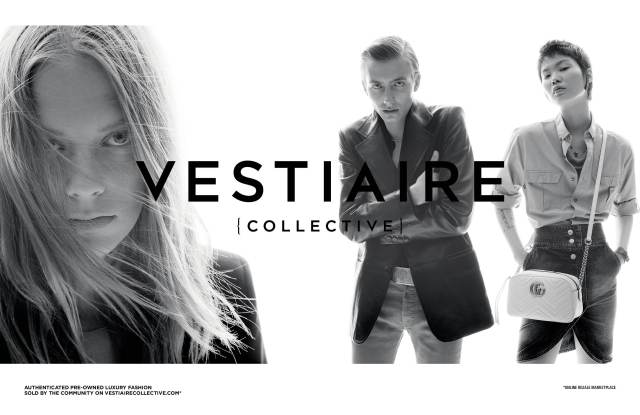 An image from the Vestiaire campaign.