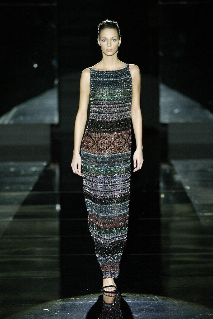 A Gianfranco Ferré dress
