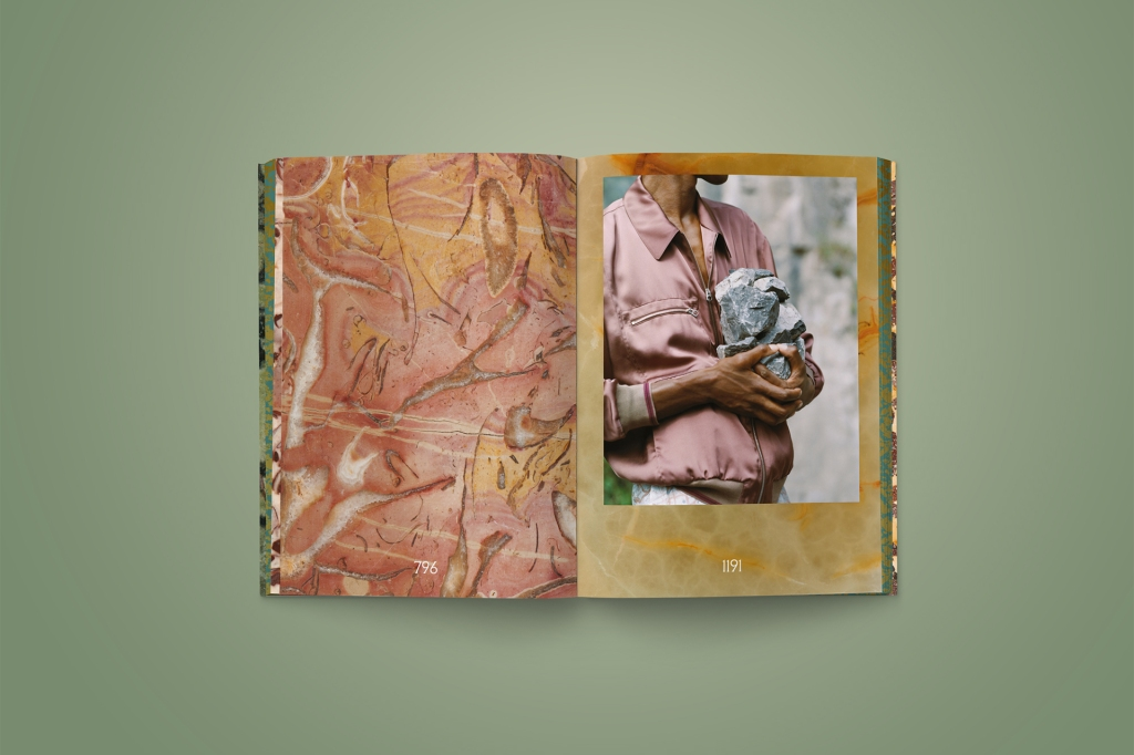 """Inside the """"Edited-Trip"""" book by POMO"""