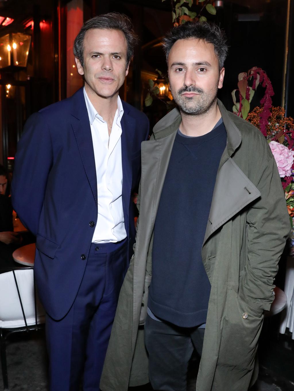 Guillaume Houzé and Julien David