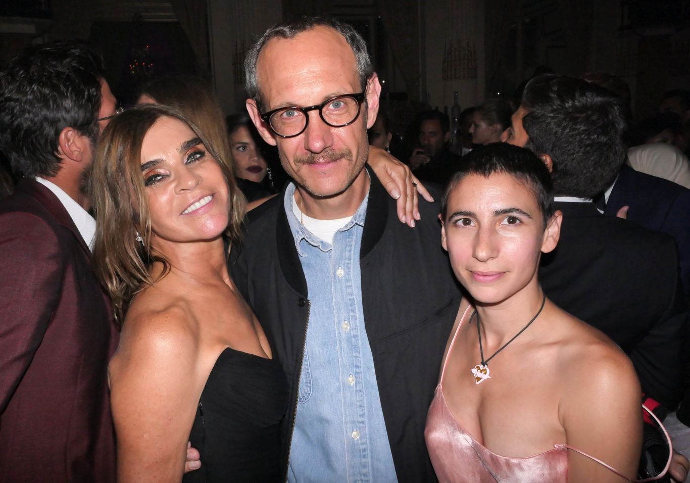 Carine Restoin-Roitfeld, Terry Richardson and Alex Bolotow