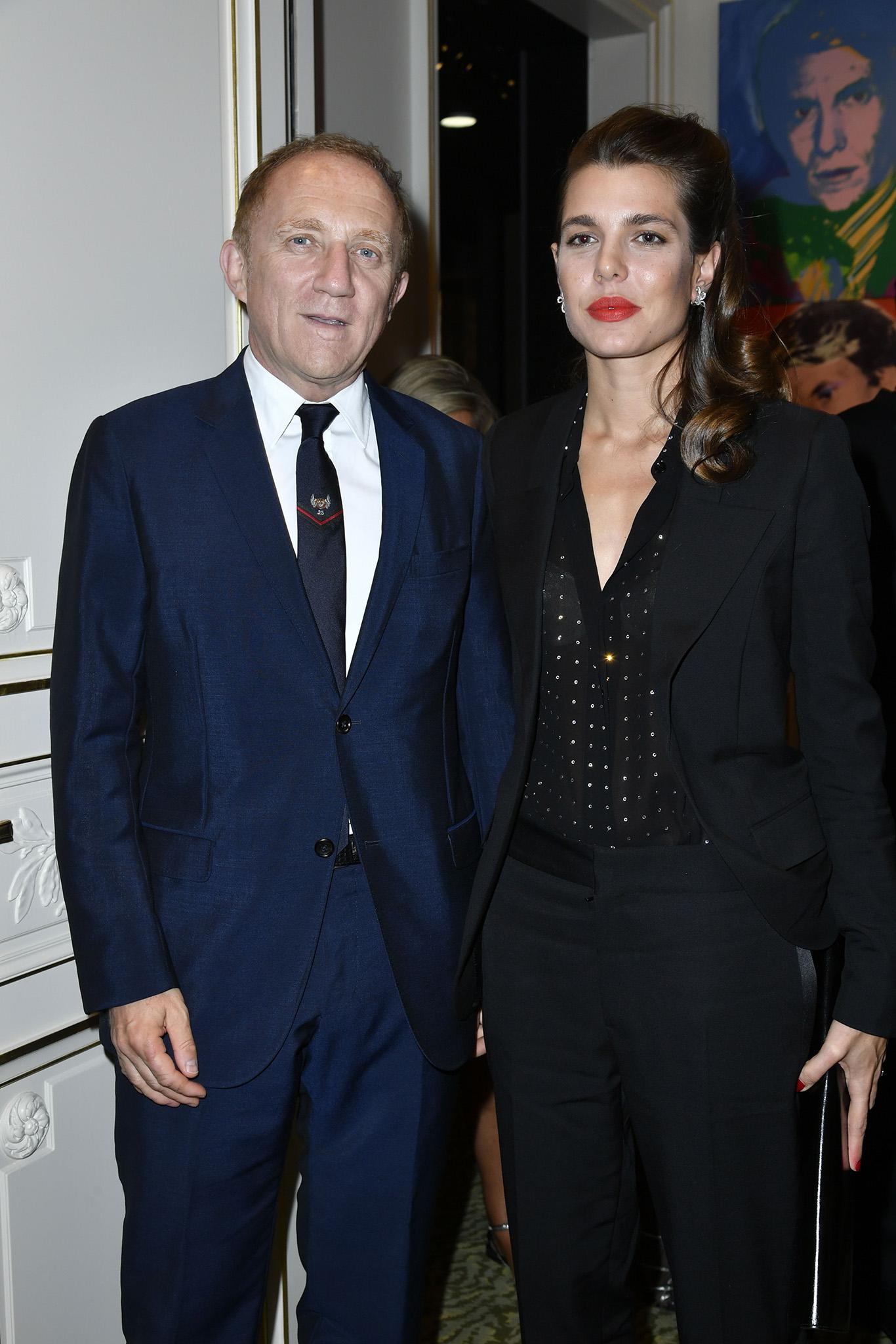 François-Henri Pinault and Charlotte Casiraghi