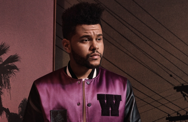 The Weeknd in an H&M look.