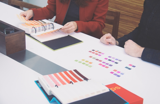 Color selections are carefully considered at branding agency Ignyte