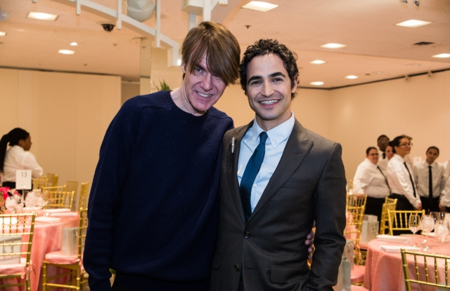 Ken Downing and Zac Posen at the Crystal Ball Charity Fashion Show and Luncheon.