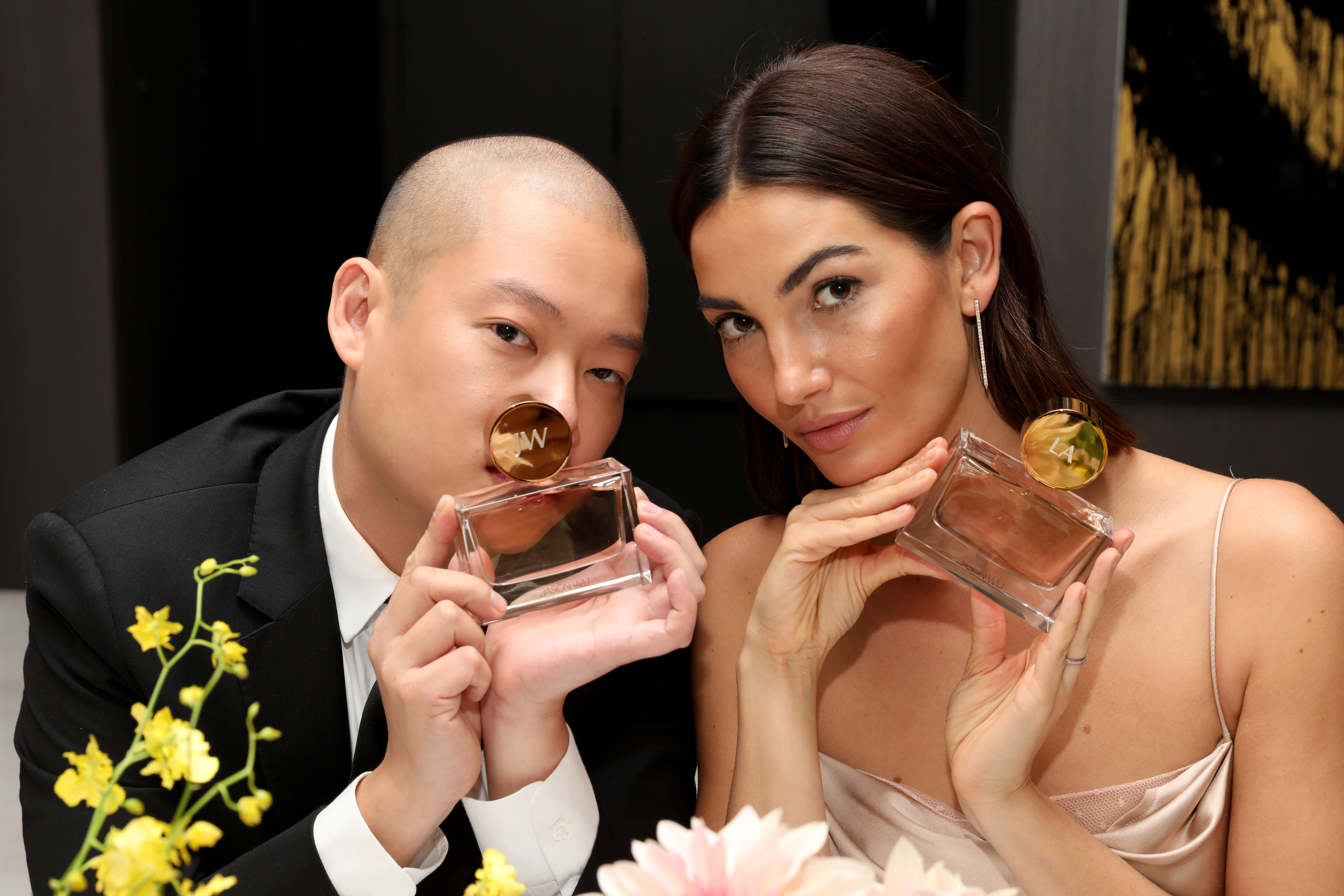 Jason Wu and Lily AldridgeJason Wu Fragrance Dinner, Spring Summer 2018, New York Fashion Week, USA - 08 Sep 2017