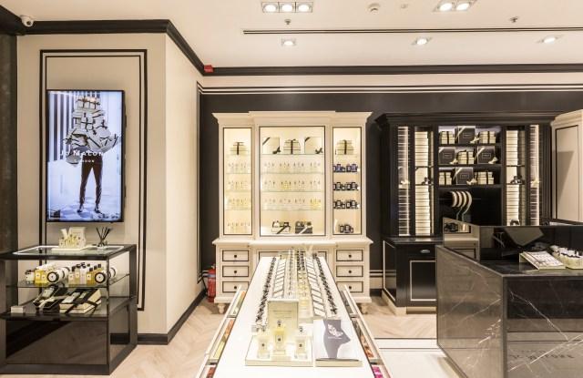 The new Jo Malone London store in the Palladium mall.