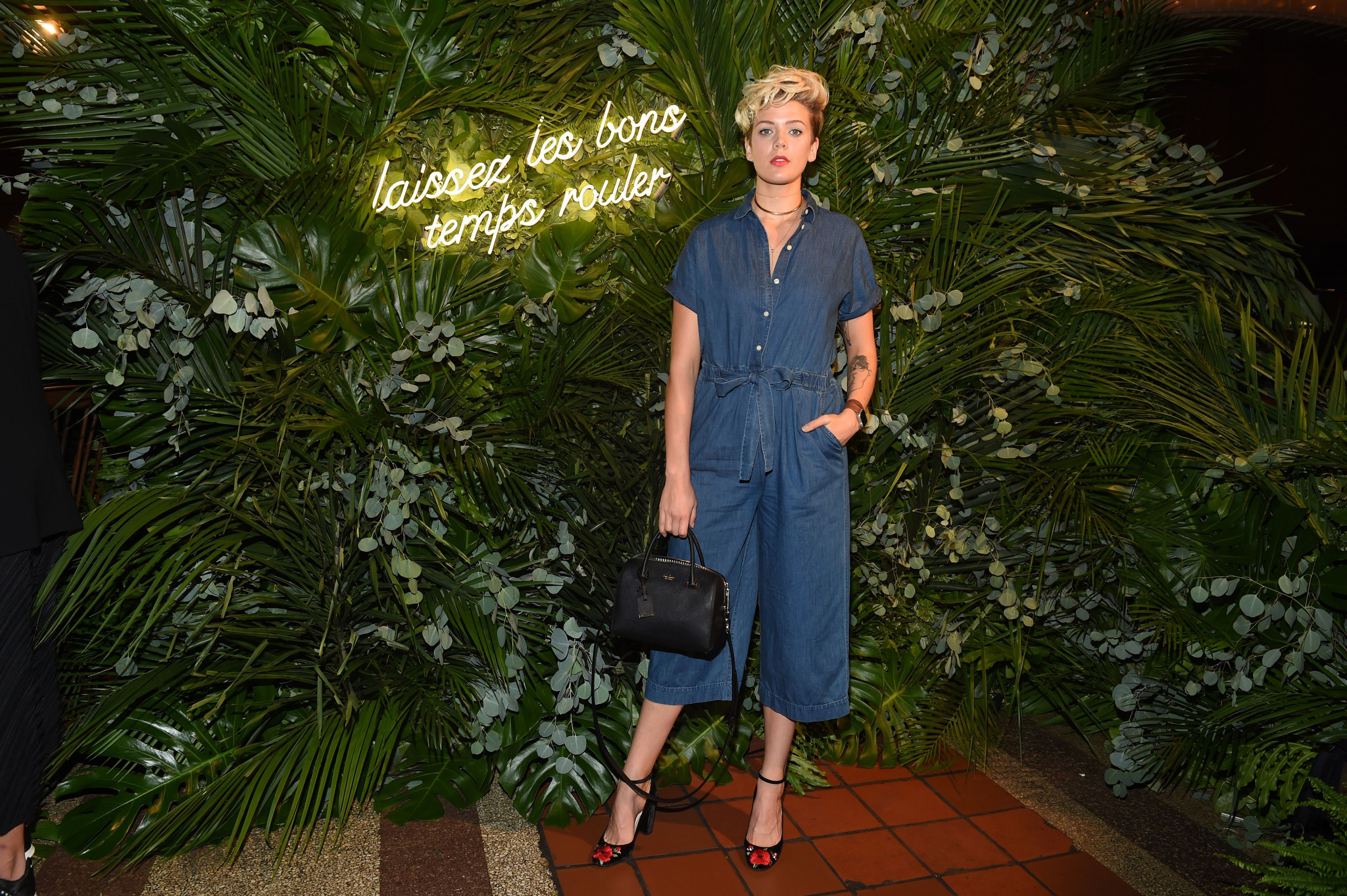 Betty Who in the Front Row at Kate Spade RTW Spring 2018