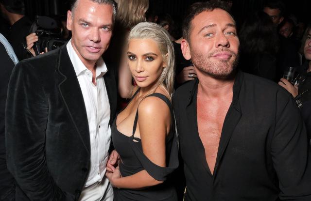 Kim Kardashian, Marcus Piggott and Mert AlasMert and Marcus book launch, Spring Summer 2018, New York Fashion Week, USA - 07 Sep 2017