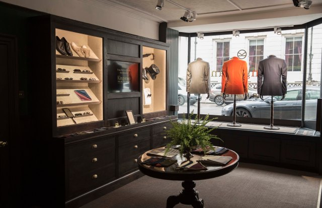The Kingsman shop in London