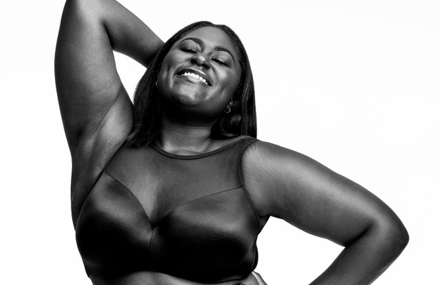 """Danielle Brooks modeled in the Christian Siriano fashion show for Lane Bryant last year and is featured in the latest """"I'm No Angel"""" campaign."""