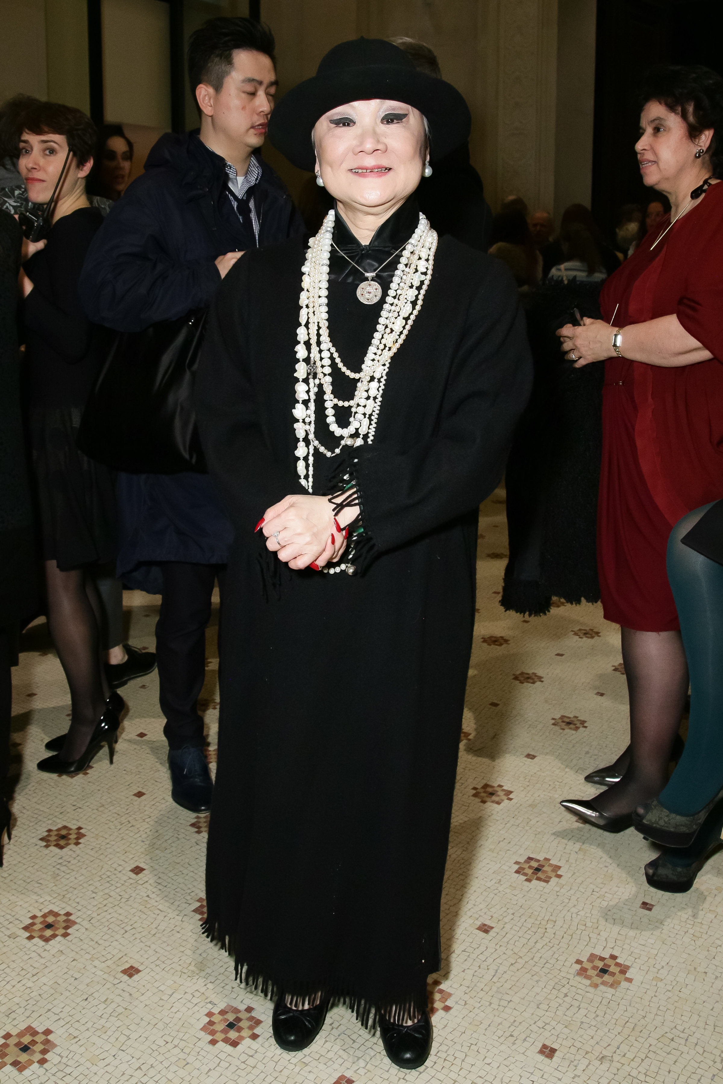 Madame Shaw-Lan WangJeanne Lanvin Retrospective, Autumn Winter 2015-2016, Paris Fashion Week, Paris, France - 06 Mar 2015