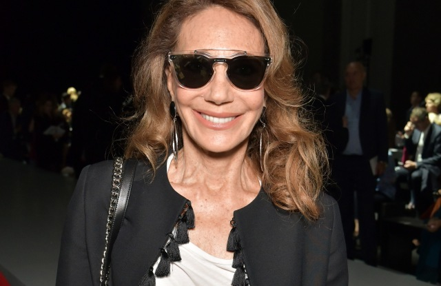 Marisa Berenson in the front rowLanvin show, Front Row, Spring Summer 2018, Paris Fashion Week, France - 27 Sep 2017