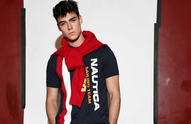 ModelThe Lil Yachty Collection by Nautica presentation, Spring Summer 2018, New York Fashion Week, USA - 07 Sep 2017