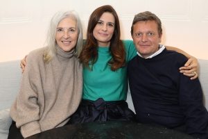 Ruth Chapman, Livia Firth and Tom Chapman