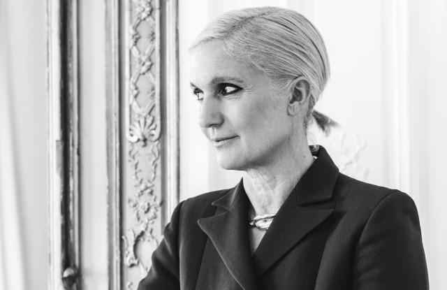 Maria Grazia Chiuri, artistic director of Dior.