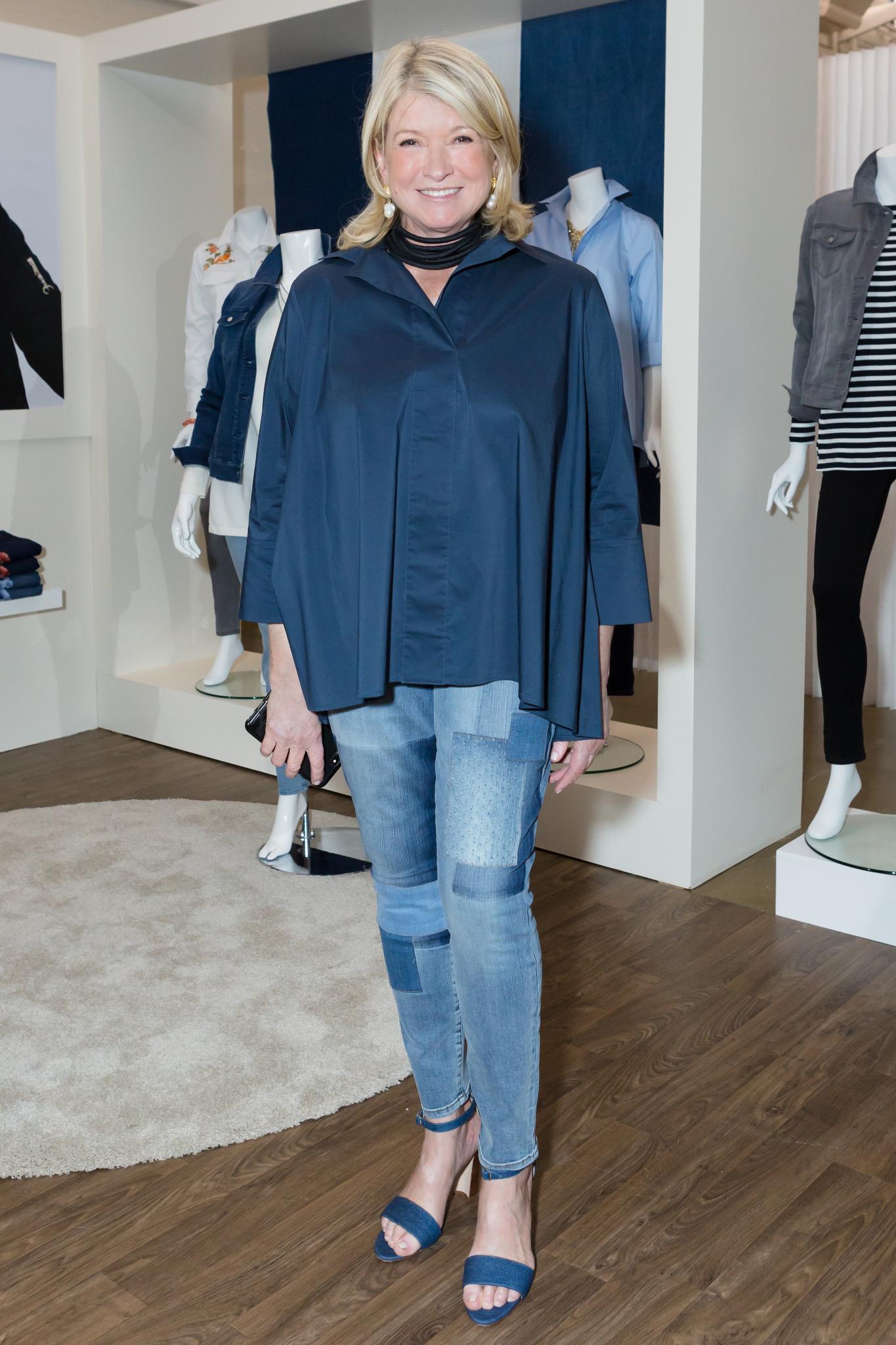 Martha Stewart Unveils Merchandise for QVC