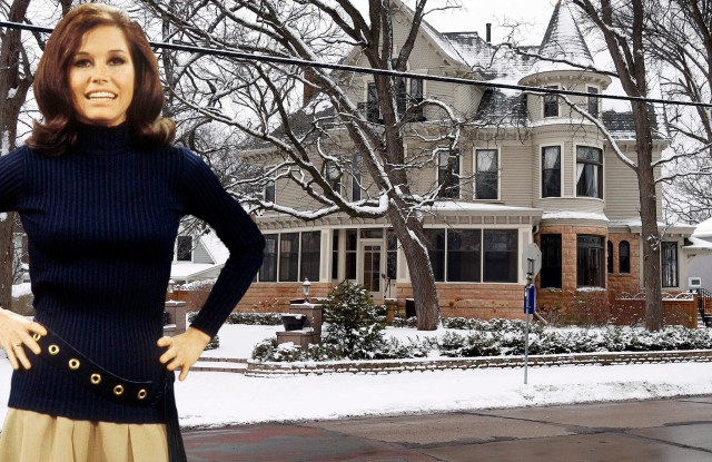 The Minneapolis home was the setting for 'The Mary Tyler Moore Show'.