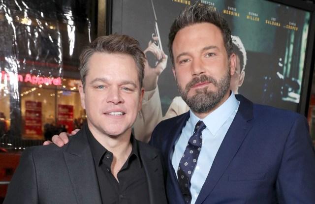 Matt Damon, Ben Affleck'Live By Night' film premiere, Los Angeles, USA - 09 Jan 2017