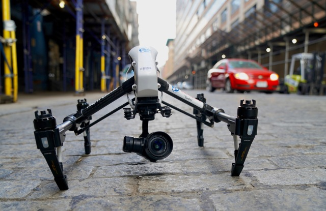 Measure owns and operates drones, which may someday change landscape of retail.