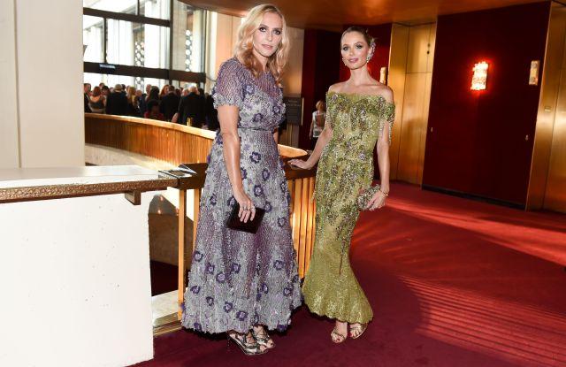 Keren Craig, Georgina ChapmanMetropolitan Opera Opening Night Gala, Metropolitan Opera House, New York, USA - 25 Sep 2017