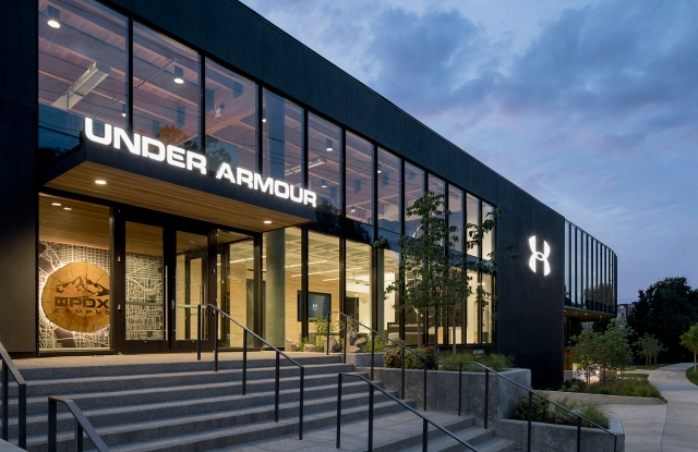 Under Armour's new Portland, Ore. design center.