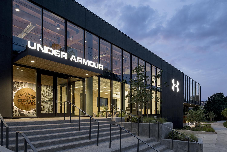 Under Armour's new Portland, Ore. design center.