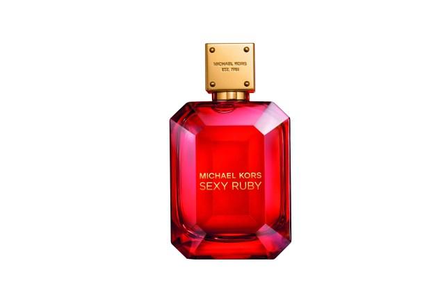 Michael Kors' new fragrance Sexy Ruby.