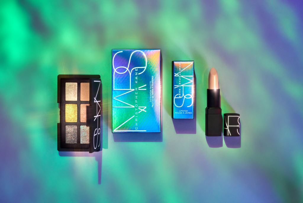 The Chrome Couture collection, a part of the Christopher Kane for Nars series