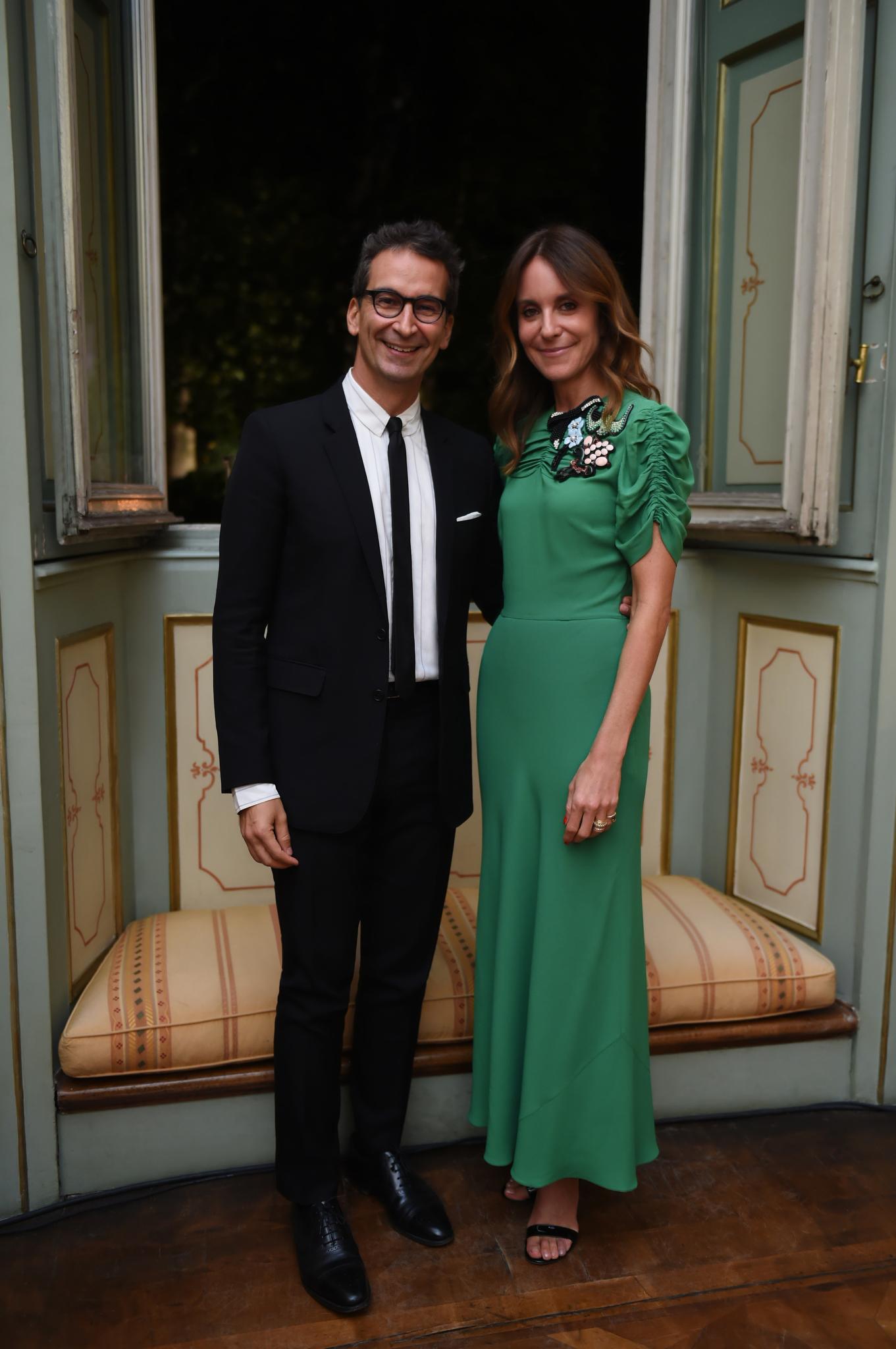 Federico Marchetti and Alison loehnis