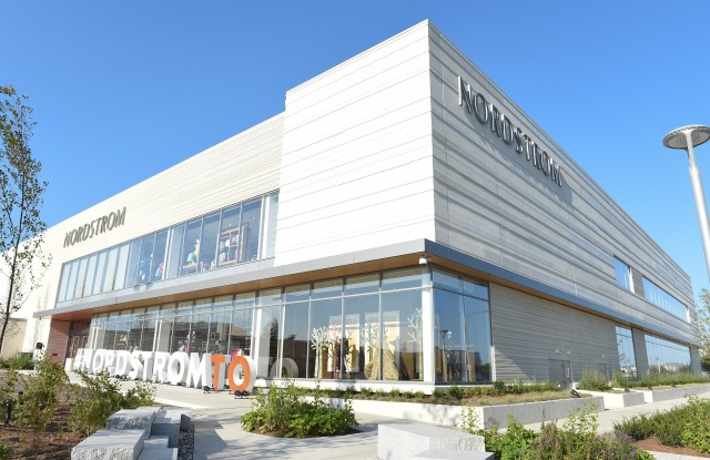 The new Nordstrom at CF Sherway Gardens, Toronto
