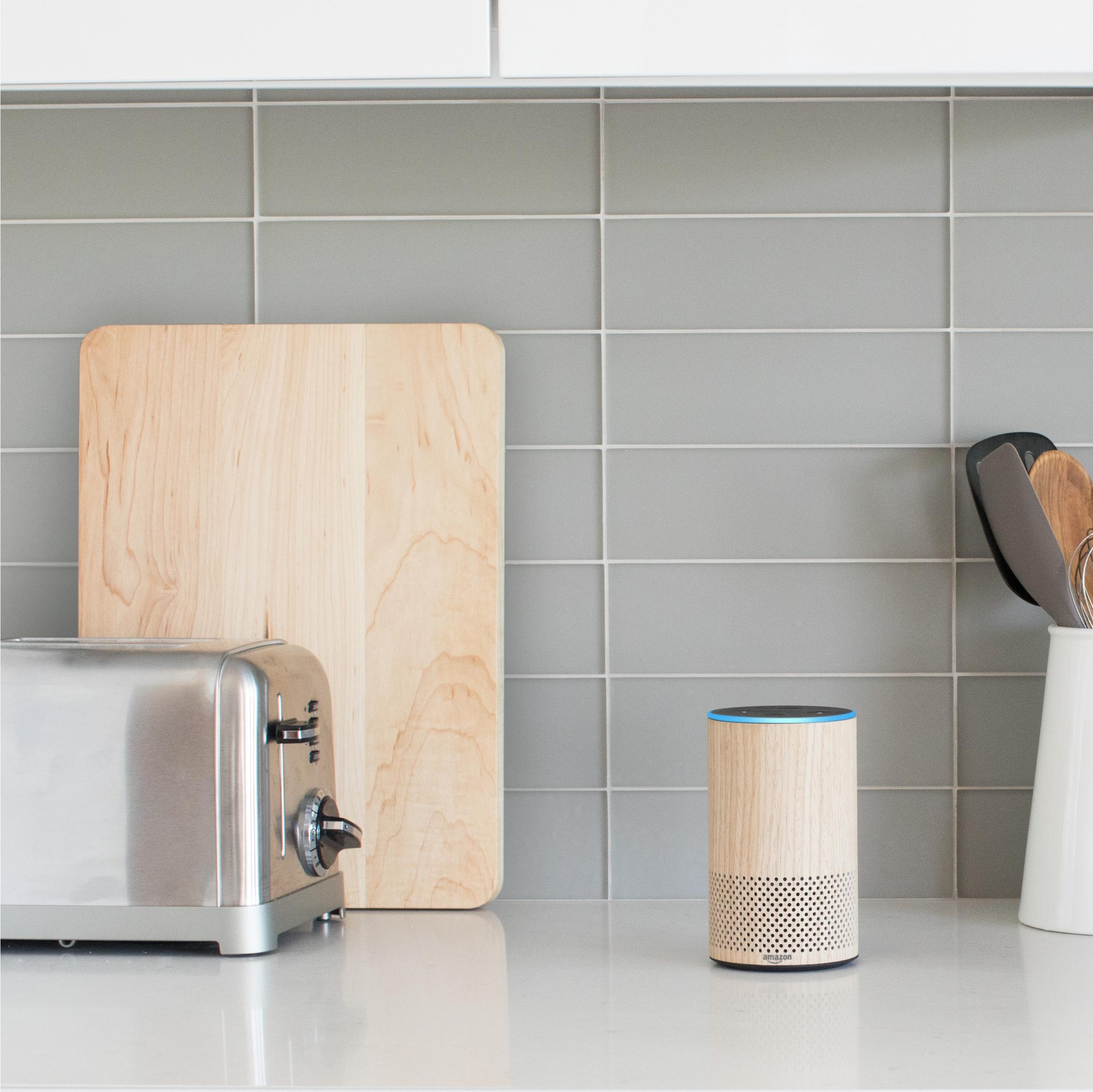 Amazon's new Echo with Alexa, 2017