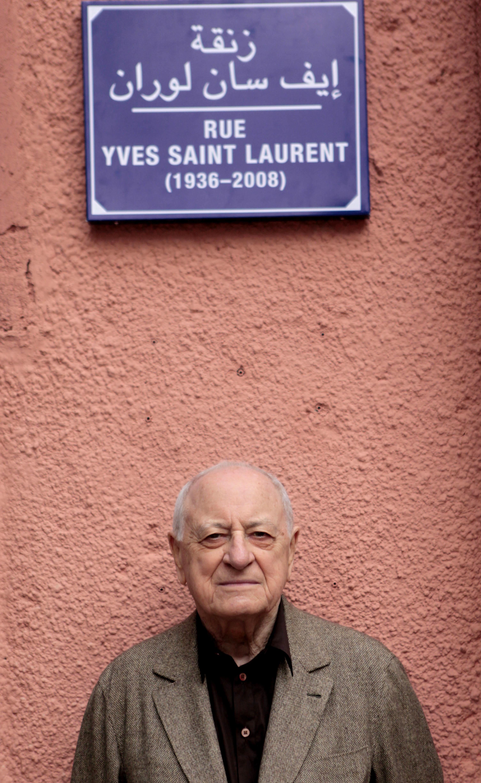 Pierre Bergé in Marrakech